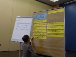 Themenfindung AG 1 des 3.Workshops der Regionen