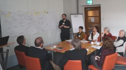 Arbeitsgruppe beim HoNESt Stakeholder-Workshop
